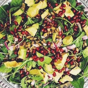 Thrive Chiropractic, Minnetonka, MN, Insights, Pomegranate Salad by Stephanie May Potter